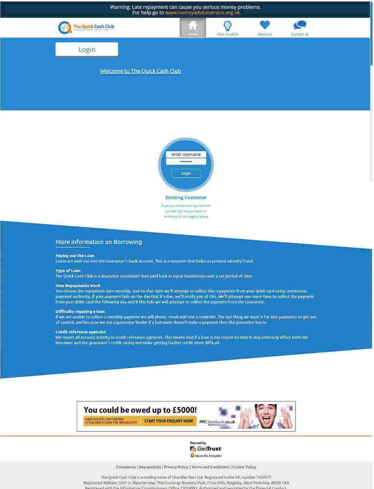 The Quick Cash Club | Enterprise Solution Development Portfolio