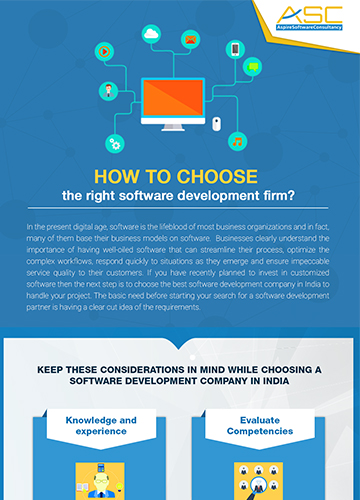 How to choose software development firm - It services companies in bangalore