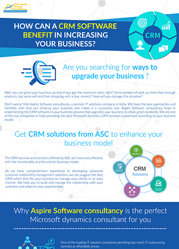 Benefits of CRM Software - It services companies in bangalore