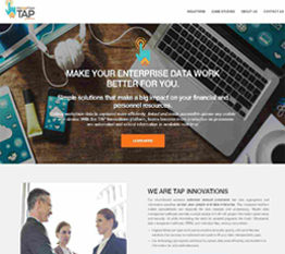 TAPINNOV | Offshore Software Development Services Company Portfolios