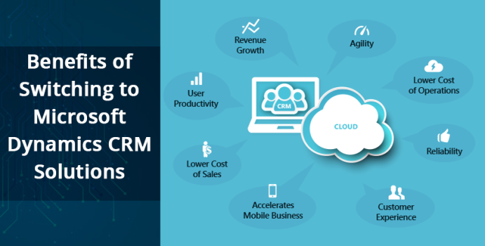 Benefits of Switching to Microsoft Dynamics CRM Solutions