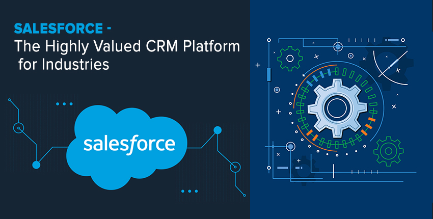 Salesforce- The Highly Valued CRM Platform for Industries